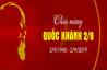 Mừng ngày Quốc khánh Việt Nam 02/09/2019