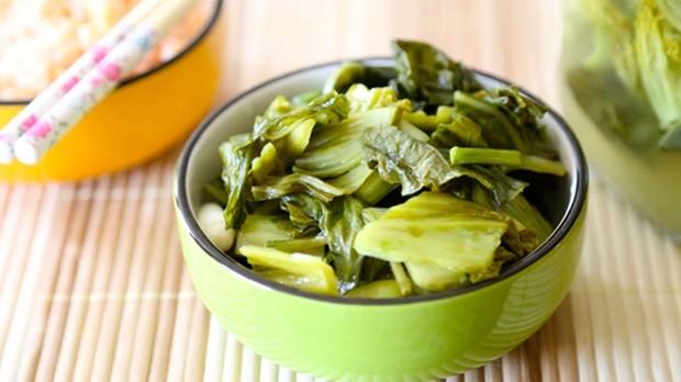 酸刈菜:「留得住口感,留不得苦味」