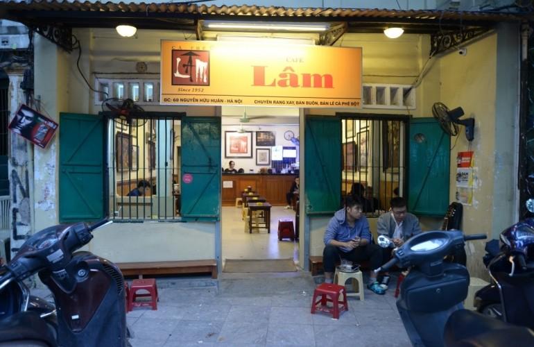 河內人的古街咖啡文化