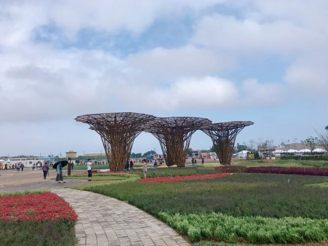Khai mạc Hội chợ triển lãm nông nghiệp Đào Viên 2019 - Khuôn viên nông nghiệp, văn hóa Đào Viên