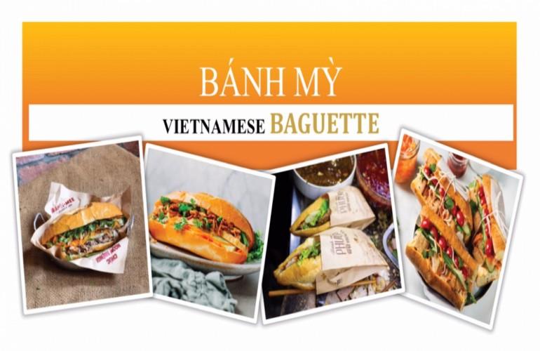 """Bánh mỳ Việt Nam - """"mỹ nữ"""" triệu người mê"""