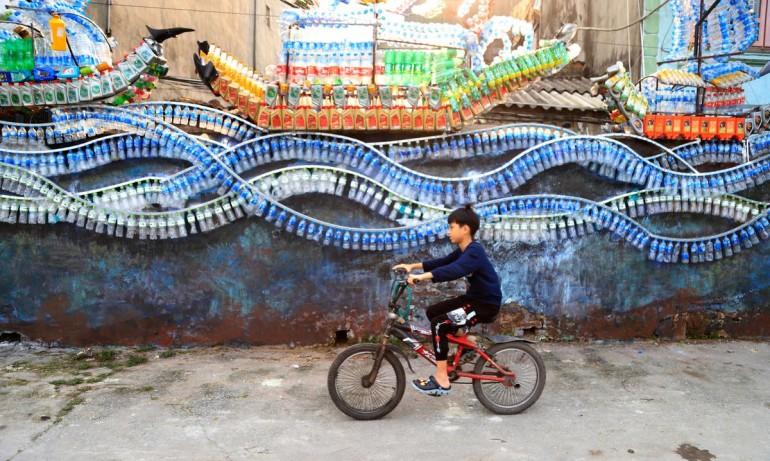 Biến bãi rác thành điểm đến nghệ thuật