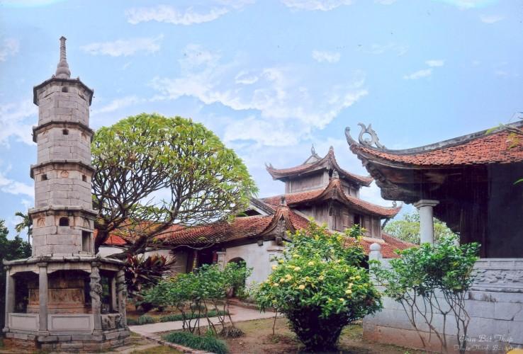 筆塔寺的建築和雕塑傑作