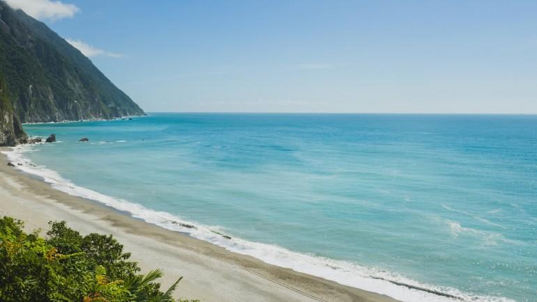 宜蘭縣東澳海灣:上帝送給台灣的美麗海景