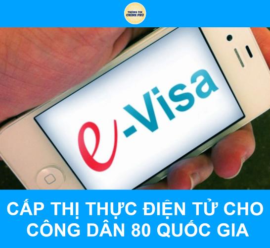 Việt Nam cấp thị thực điện tử cho công dân 80 quốc gia