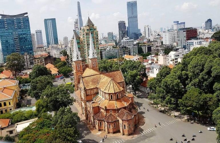 【建築- 在越南的美麗法國烙印系列】西貢巴黎聖母院