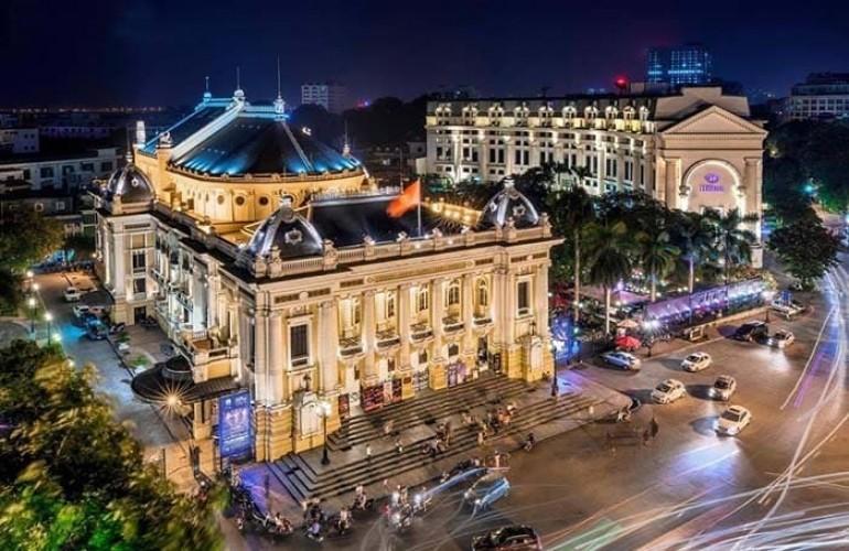 【建築- 在越南的美麗法國烙印系列】河內歌劇院
