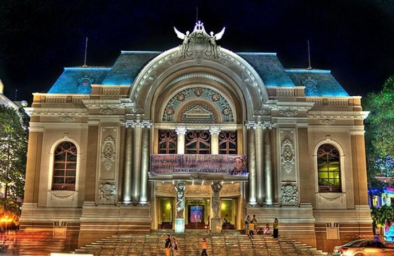 【建築- 在越南的美麗法國烙印系列】西貢歌劇院(胡志明市)