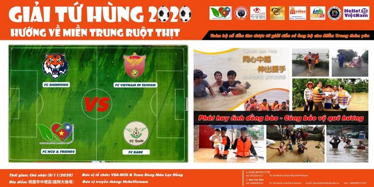 Giải bóng đá Tứ Hùng - Hướng về miền Trung