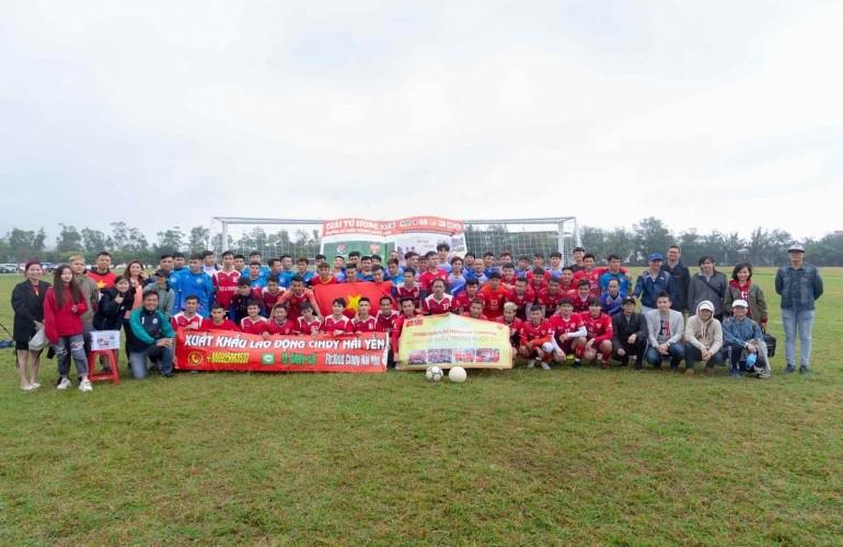 台灣中央大學越南學生會慈善足球賽