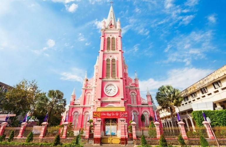 【建築- 在越南的美麗法國烙印系列】耶穌聖心堂(粉紅教堂)