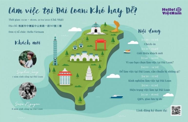 Làm việc tại Đài Loan - Khó hay Dễ