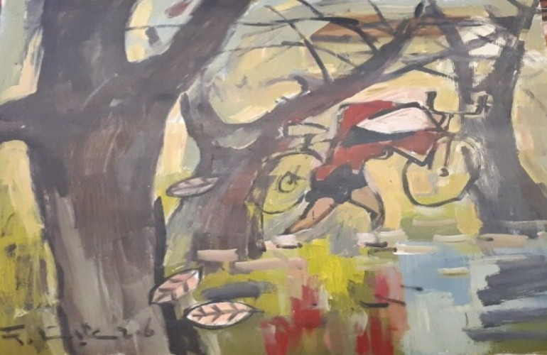 【用生命來彩繪畫布的越南梵谷——范力】