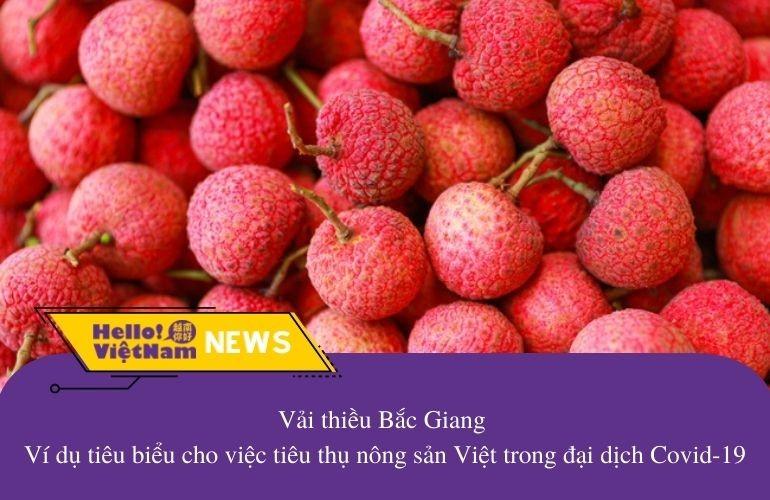 Vải thiều Bắc Giang - Ví dụ tiêu biểu cho việc tiêu thụ nông sản Việt trong đại dịch Covid-19