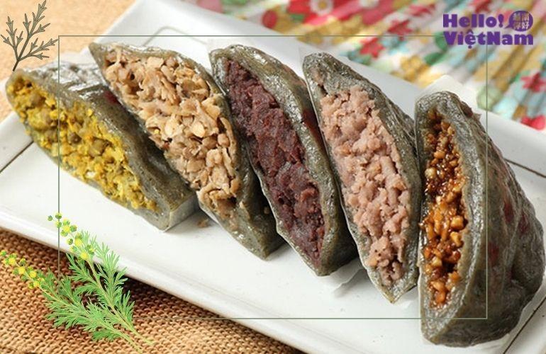 Bánh nếp thảo tử,  bánh khúc phiên bản Đài Loan