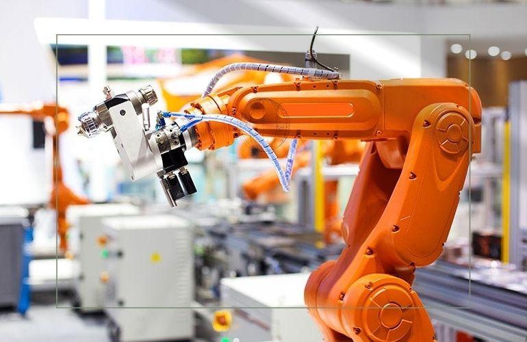 Ứng dụng của Robot trong dây chuyền sản xuất công nghiệp