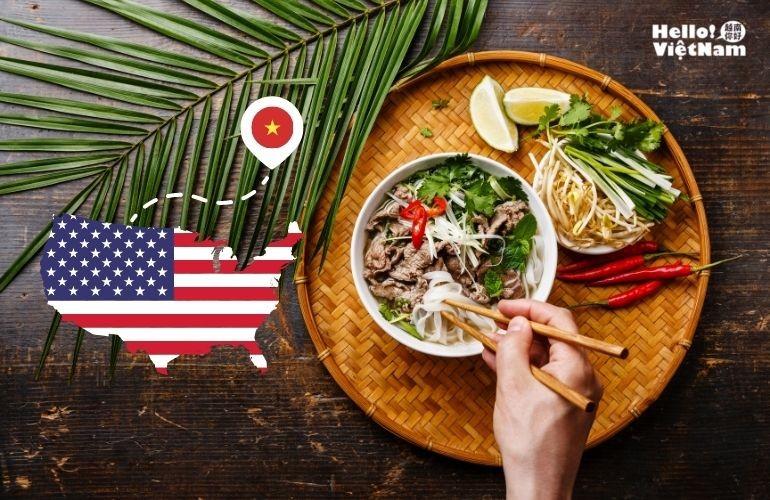 [Phở Việt tại Mỹ]  Từ  xuất hiện đến được đón nhận và  giành được giải thưởng Oscar trong ngành ẩm thực tại Mỹ