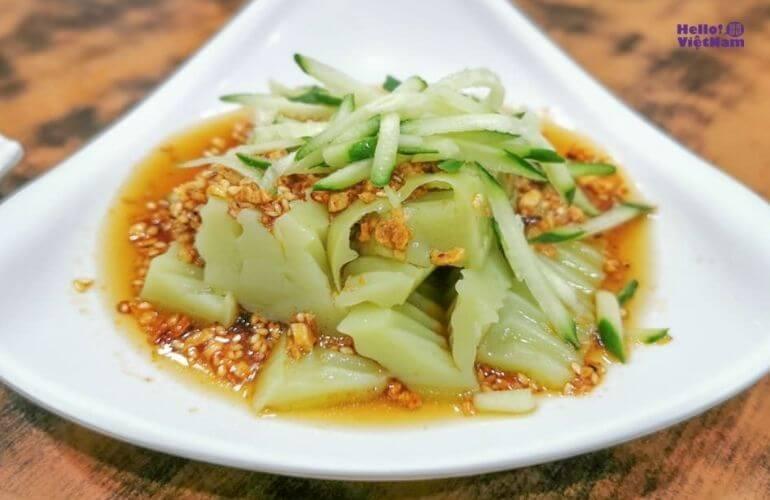 [Ẩm thực Đài Loan] - Mát lành bát bột đậu